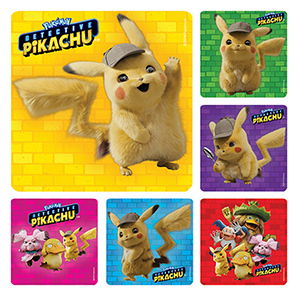Detective Pikachu Stickers