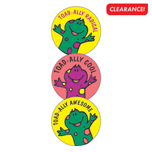 Silly Frog Stickers