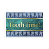 Tooth Time Postcard 4-Up