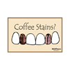 Coffee Stains? Postcard