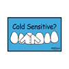 Cold Sensitive? Postcard