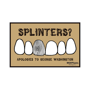Got Splinters? Postcard