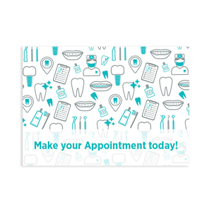 Orthodontic Illustrations Postcard