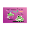 Hopping Frogs Postcard