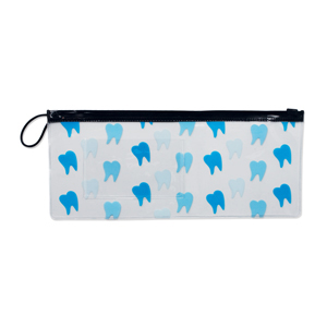 "10"" Tooth Scatter Pouch"