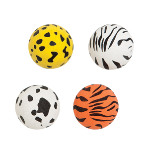 32 mm Animal Print Superball Assortment