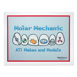 Molar Mechanic Framed Wall Art