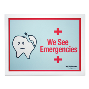 We See Emergencies Framed Wall Art