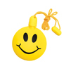 "3"" Smile Bubbles Yellow Necklace"