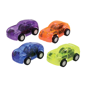 Translucent Pull Back Cars