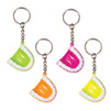"1.5"" Neon Tooth Keychain"