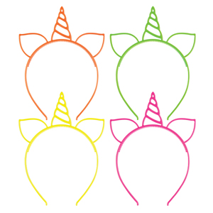 Unicorn Headband Assortment