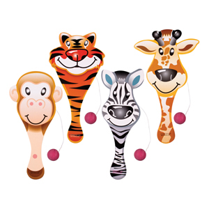 Animal Paddleballs