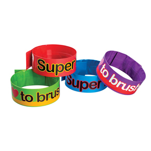 Dental Design Slap Bracelet