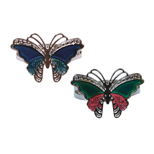 Butterfly Mood Rings
