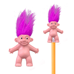 "1.5"" Crazy Hair Pencil Toppers"