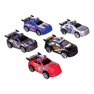 Pull-Back Police Car Assortment