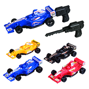 "4"" Spring Loaded Race Cars"