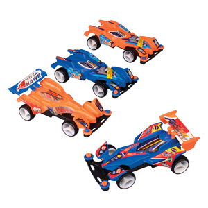 "4"" Race Cars Assorted"