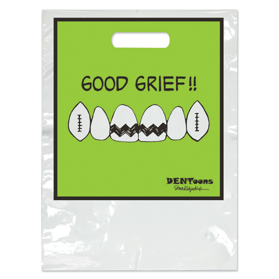 Dentoons Good Grief Two Color Bag - Small