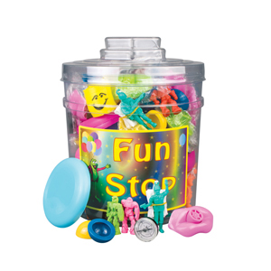 Value Action Toy Canister (132)