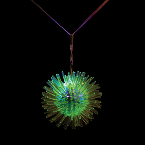 Flashing Porcupine Necklace