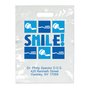Imprinted Small Smile! Bags