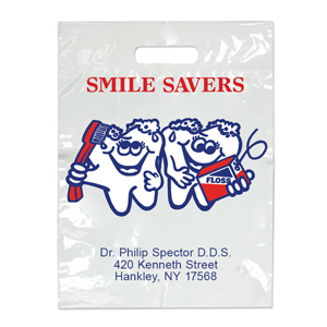 Imprinted Small Smile Savers Bags