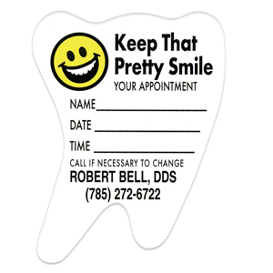 Pretty Smile Appointment Magnet