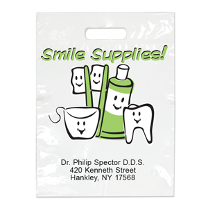 Imprinted Small Smile Supplies! Bags
