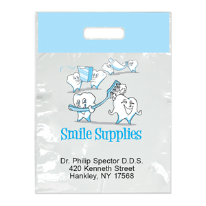 Imprinted Small Tooth Supplies Bag